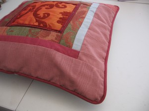 Scrappy Designer Pillow #1