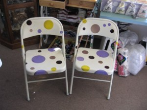 Polka Dot Chairs