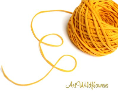 T-Shirt Yarn by ArtWildflowers on Etsy