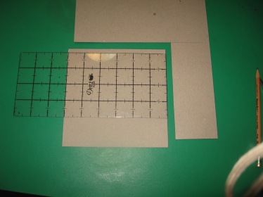 6X6 inche template from chipboard