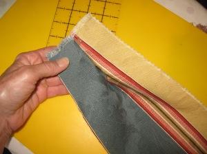 Making a pleat